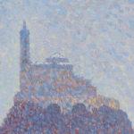 Portrait de Saint-Michel d'Aiguilhe sous la neige