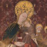 Portrait de La Vierge au manteau